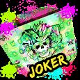 Joker Emoji Keyboard Theme