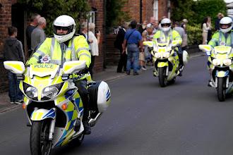Photo: Police Escort