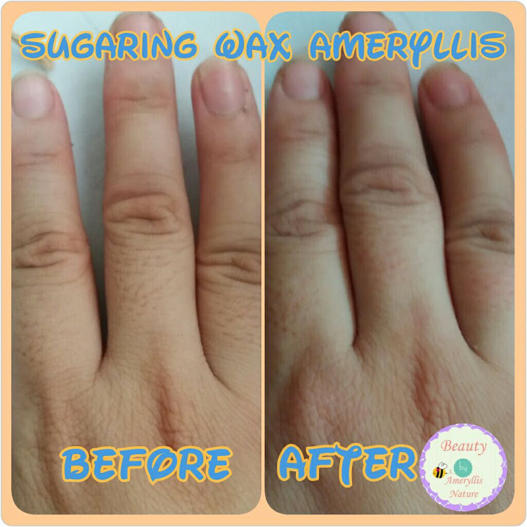 Homemade sugar wax Hair removal Ameryllis