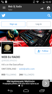 Web Dj Radio- screenshot thumbnail
