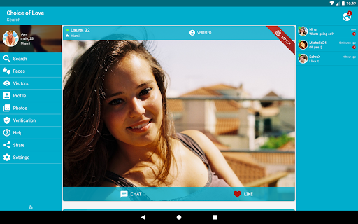 Free Dating & Flirt Chat - Choice of Love  screenshots 8