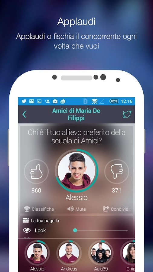 Amici Real Time- screenshot