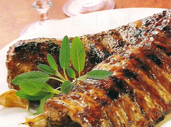 Glazed Pork Spareribs Recipe