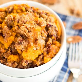 Pecan Crisp Sweet Potato Casserole