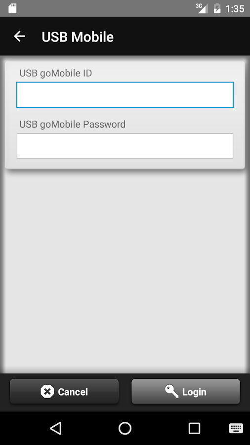 USB goMobile- screenshot