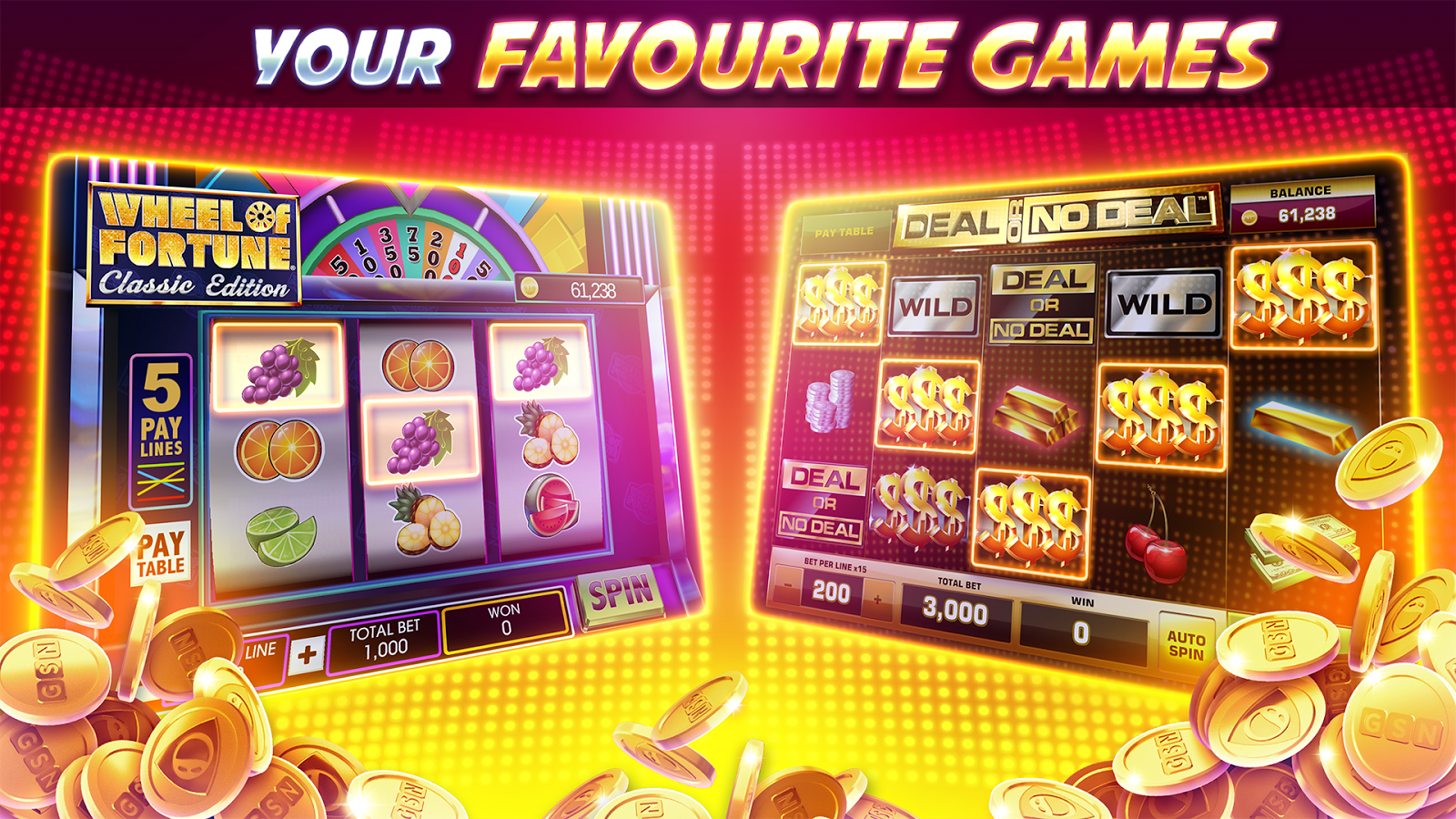 casino slot games free