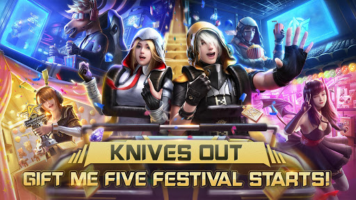 Code Triche Knives Out-No rules, just fight! APK MOD (Astuce) screenshots 1
