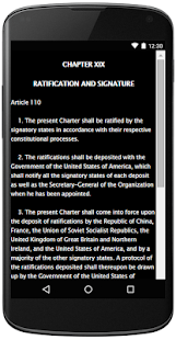 CHARTER OF THE UNITED NATIONS- screenshot thumbnail
