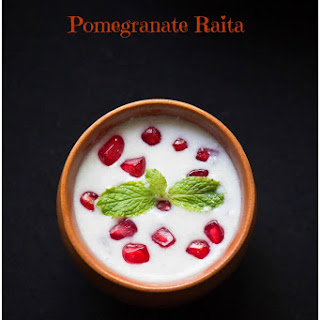 Pomegranate Raita.