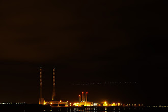 Photo: I went over to sandymount in south county Dublin last night to look at the Stars with the good people from Dunsink Observatory. I did go out to try and get some images to convert to HDR but that didn't work out as I had planned. So here is one of the long exposures I got on the night. Not the best but I am working on it.   This is Poolbeg photographed from the south side.  #longexposurephotography +Breakfast Club Curator +Stuart Williams #breakfastclub  #saturdaynightlight Curator +Dirk Heindoerfer