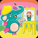 Mini Art, storytelling painting application icon