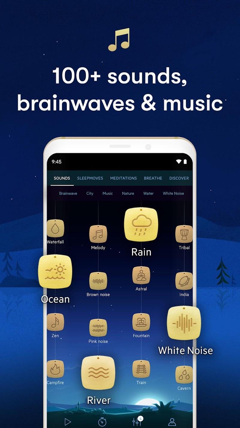 Relax Melodies: Sleep Sounds Screenshot 2