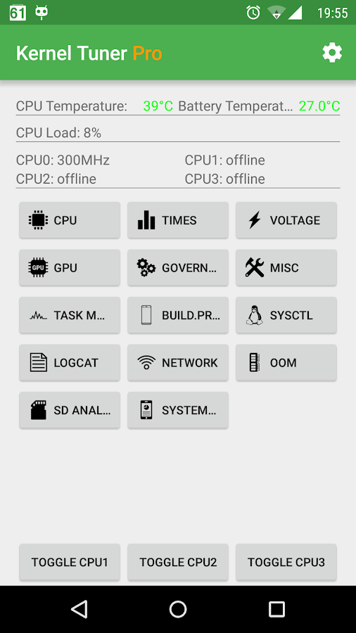 [ROOT]Kernel Tuner- screenshot
