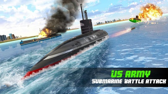Submarine Robot Transform War: Robot Hero Games 1