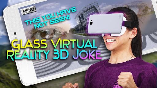 玻璃虚拟现实3D笑话