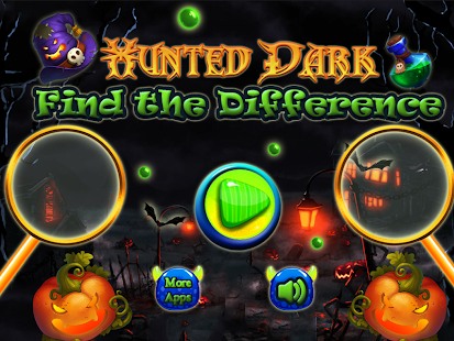 Hunted Dark Find the Difference - náhled
