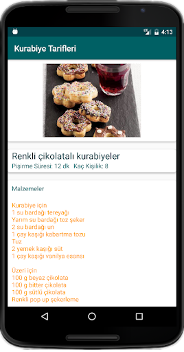 İnternetsiz Kurabiye Tarifleri for PC