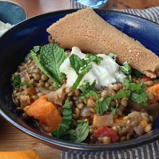Misr Wot (Ethiopian Spicy Lentil Stew).