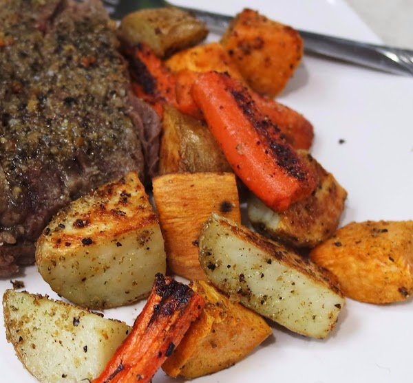 Spicy Oven Roasted Veggies Recipe