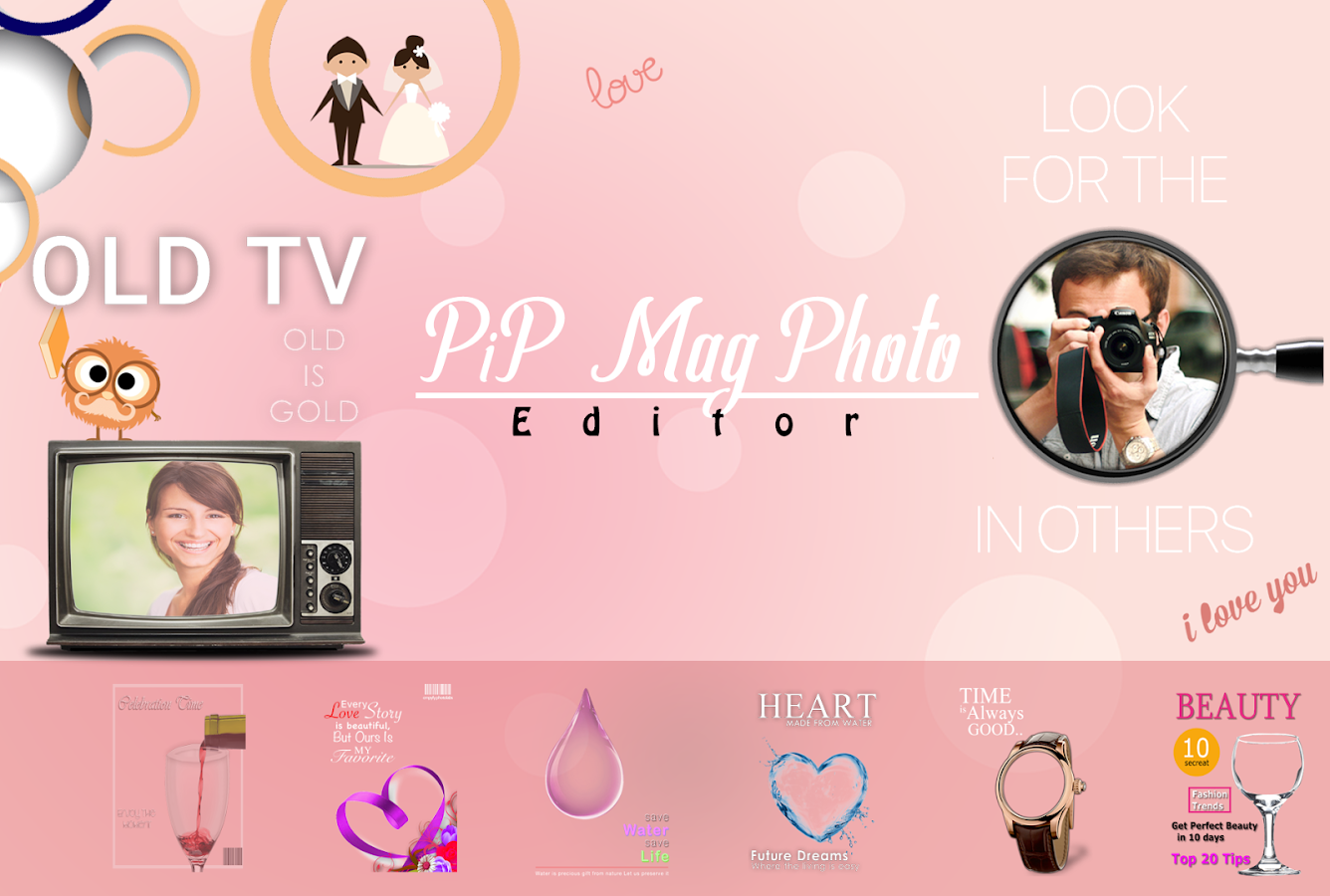 Pip Mag Photo Editor – Android-Apps auf Google Play