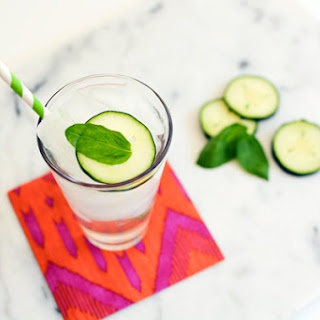 Cucumber Basil Soda and New CPK Recipe