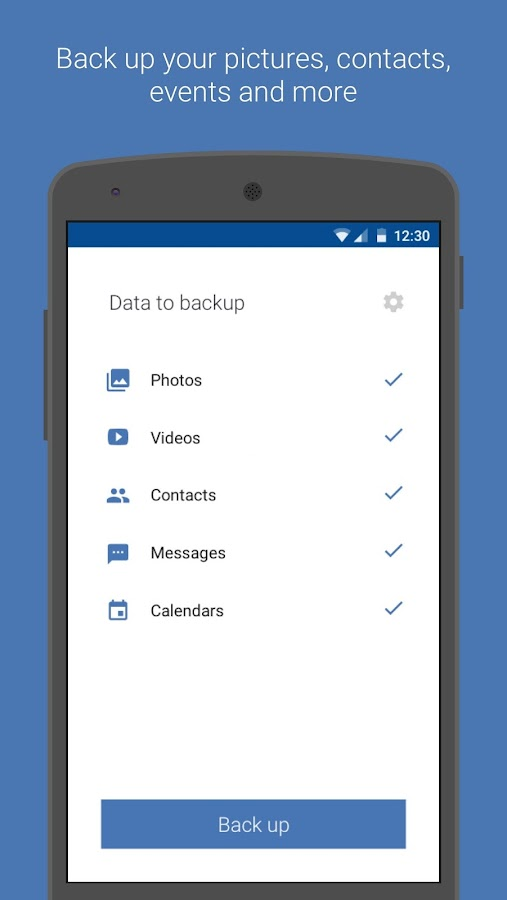 Acronis Backup- screenshot