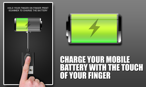 Faster battery charger Prank