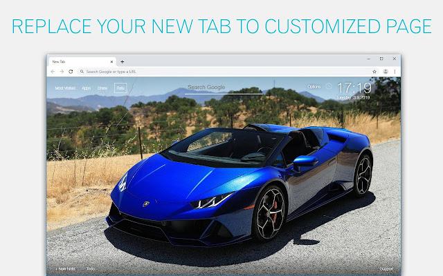 Lamborghini Huracan Wallpapers Custom New Tab