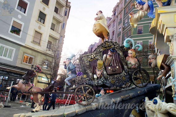 "Ciscar - Burriana. Fallas de primera ""A"" 2019"