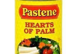 Sauté the hearts of palm in the butter and olive oil, until they are...