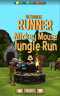 Mickey Jungle Mouse RUN, Dash 3D - náhled