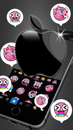 Space Gray Black Apple Keyboard -Phone 8 Plus,OS11 1.0 screenshots 3