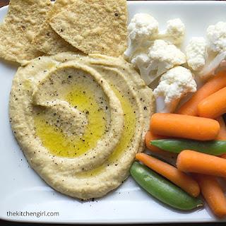 Skinny Hummus With Zero Tahini