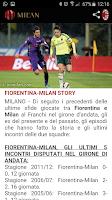 Screenshot of A.C. Milan