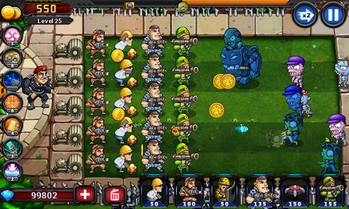 Screenshot 4 Army vs Zombies 2.0.1.8 APK hack
