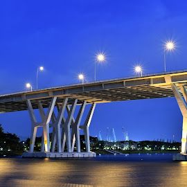 Benjamin Sheares Flyover by Koh Chip Whye - Buildings & Architecture Bridges & Suspended Structures (  )