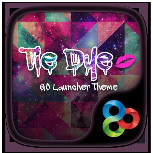 Tie Dye GO Launcher Theme