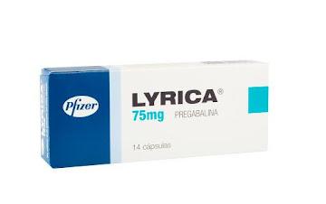 LYRICA 75mg Cápsulas   Caja x14Cap. PFIZER Pregabalina