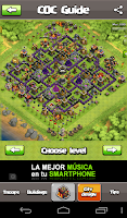 Screenshot of Guide for COC & troop planner