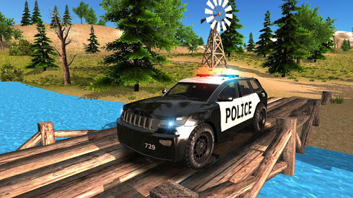Police Car Driving Offroad 2 screenshots 4