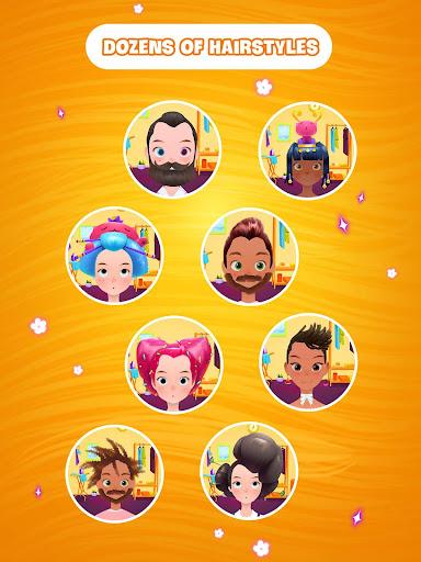 Hair salon games screenshot 8