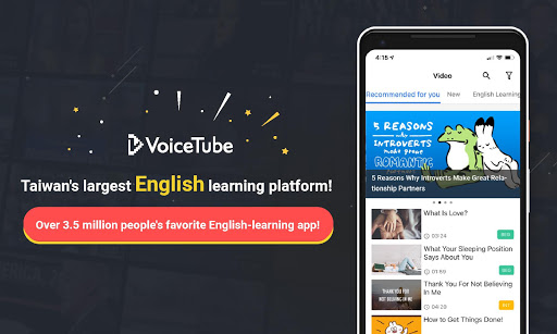 VoiceTube-Learn phrases and words easily 3.3.99.191111 screenshots 1
