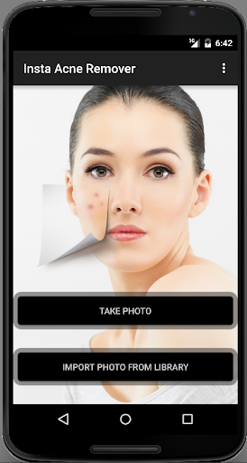 Face Acne Remover Photo Editor App 2.0 screenshots 1