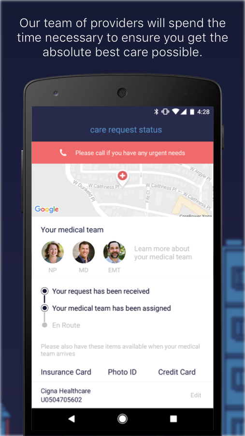 DispatchHealth- screenshot