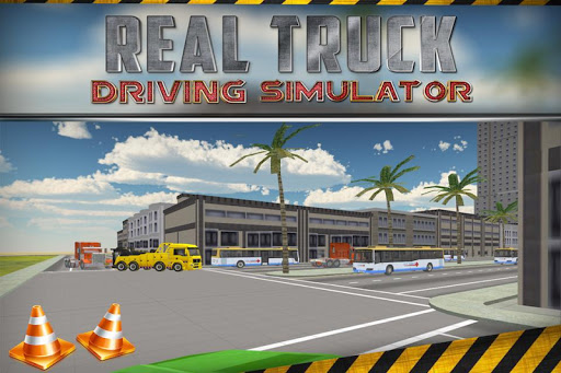 Real Truck Driving Simulator