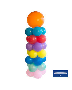 Ballongpelare, 1,2m med bas