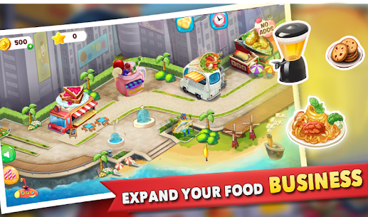 Cooking Story : Food Truck Game 2.6 MOD for Android 2