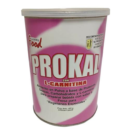 suplemento nutricional prokal l-carnitina fresa 400g