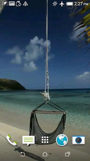 Sunny Beach Video 3D Wallpaper