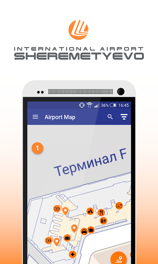 Sheremetyevo airport- screenshot
